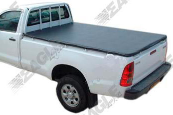 Mitsubishi L200 Soft Bungee Tonneau Cover Single Cab 06 Onwards