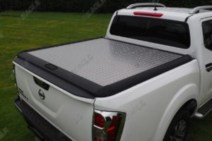 Nissan Navara NP300 Mountain Top Aluminium Chequered Tonneau Cover