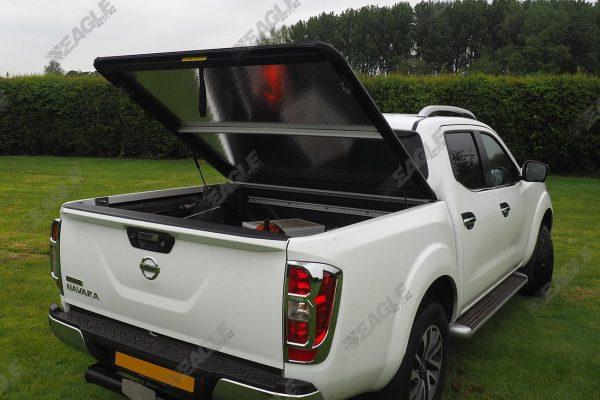 Nissan Navara NP300 Mountain Top Aluminium Chequered Tonneau Cover