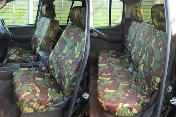 Isuzu Dmax Seat Covers - Eagle1 Tailored Fit