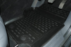 VW Amarok Tailored Fit TPE Rubber Floor Mats