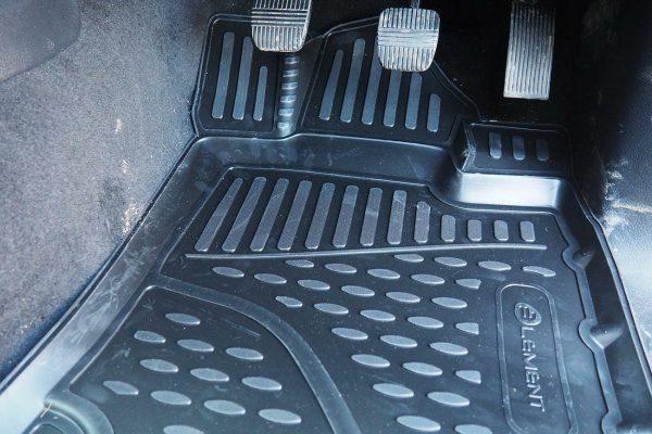 Nissan Navara NP300 Tailored Fit TPE Rubber Floor Mats