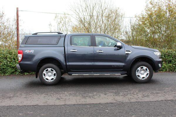 Ford Ranger Grey Hardtop - Ridgeback Platinum