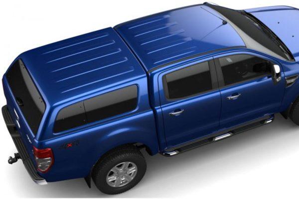 Ford Ranger Blue Hardtop Canopy - Aeroklas Leisure