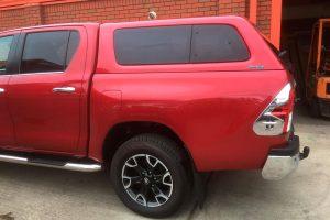 Toyota Hilux (Revo) 2016+ Hardtop Canopy - Aeroklas Leisure