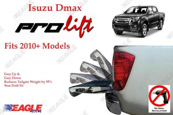 Isuzu Dmax 2010+ Prolift Tailgate Assistant