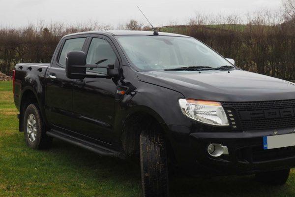 Ford Ranger T6 Xtenda Mirror - Extenable Towing Mirrors