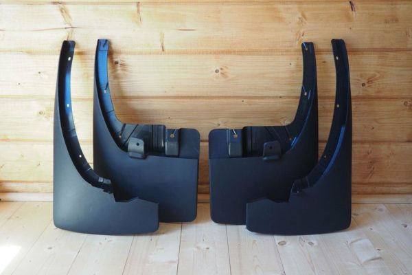 Nissan Navara NP300 Double Cab Mud Flaps Set of 4 Front and Rear