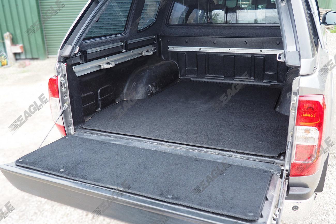 Nissan NP300 Navara Carpet Load Bed Liner Boot Mat - Eagle 4x4