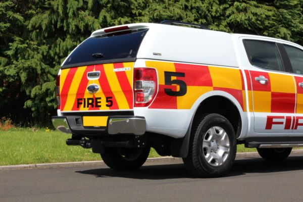 Ford Ranger T6 Hardtop Canopy - L Series - Solid Sides