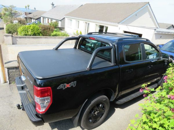 Ford Ranger T6 2012+ Soft Roll Up Cover - Wth OE Sports Bar