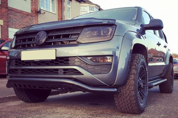 VW Amarok Rhino Black Spoiler Bar - 2016+ V6