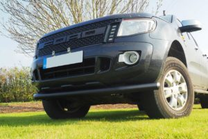 Ford Ranger T6 Black Spoiler Bar 70mm