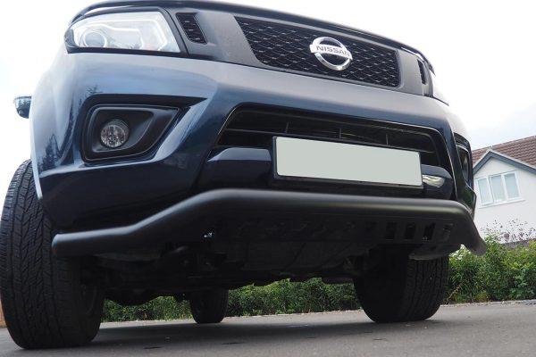Nissan Navara NP300 Rhino Black Spoiler Bar