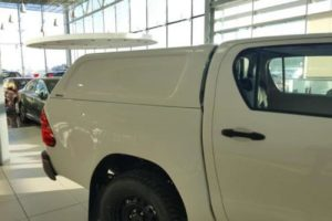 Toyota Hilux (Revo) 2016+ Hardtop Canopy - Aeroklas Commercial - Solid Sides