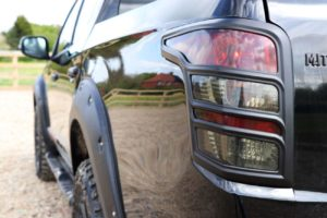 mitsubishi L200 rear light surrounds