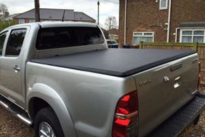 Toyota Hilux Hard Folding Tonneau Cover