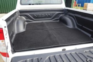 Mercedes X Class Carpet Load Bed Liner Boot Mat