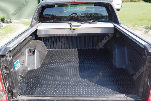 Ford Ranger T6 3mm Chequered Rubber Load Bed Liner Boot Mat