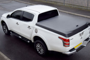 Mitsubishi L200 Series 5 - Sports Lid - Black Textured Finish - No Drill