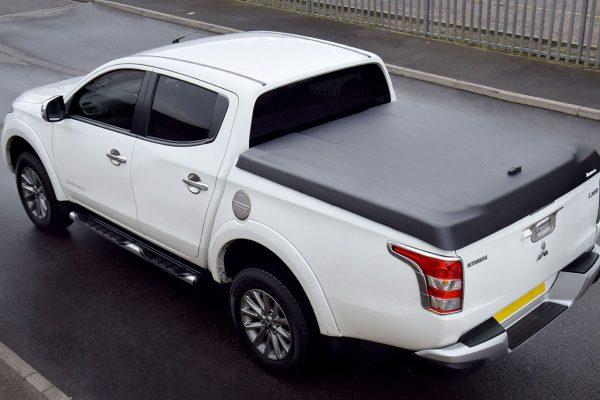 Mitsubishi L200 Series 5 - Sports Lid - Black Textured Finish - No Drill