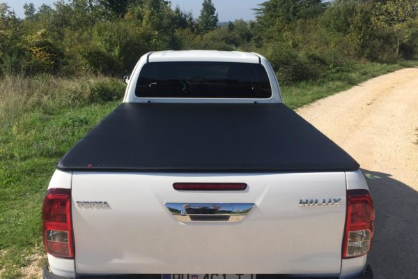 Toyota Hilux (Revo) Extra Cab Soft Roll Up Cover - NO LADDER RACK - 966