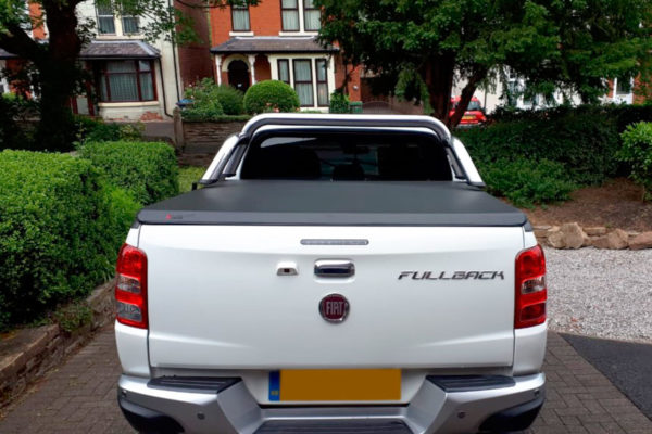 Fiat Fullback Soft Cover with Roll bar