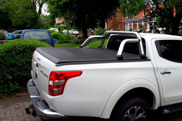 Fiat full back soft cover with roll bar