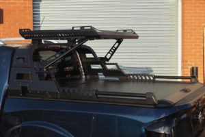 Nissan Navara NP300 COMBAT Roll Bar and Roof Basket