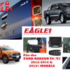 Ford Ranger T6 Tailgate Lock and Mirror Module COMBO