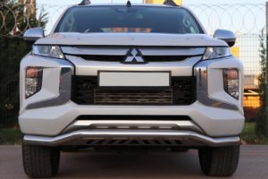 Mitsubishi L200 Series 6 Rhino Spoiler Bar Stainless Steel