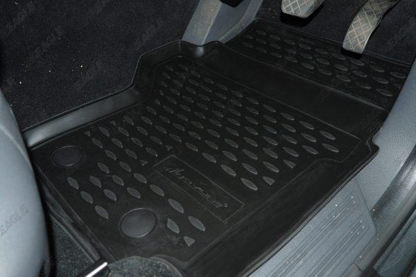 VW Amarok Tailored Fit TPE Rubber Floor Mats
