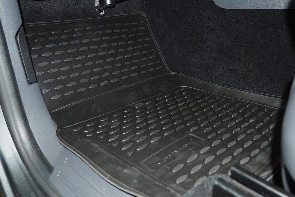 VW Amarok Rubber Floor Mats - V6 2017+ Set of 4