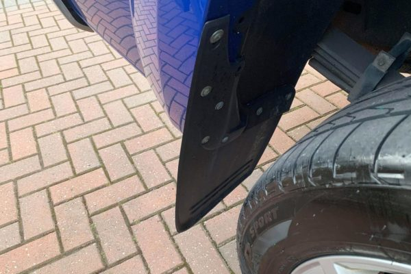 VW Amarok Double Cab Mud Flaps Set of 4 Front and Rear