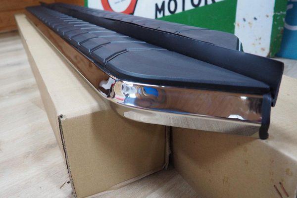 Isuzu Dmax Running Boards - Stainless Steel