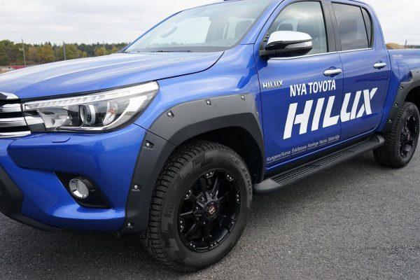 Toyota Hilux (Revo) Wheel Arche Extensions
