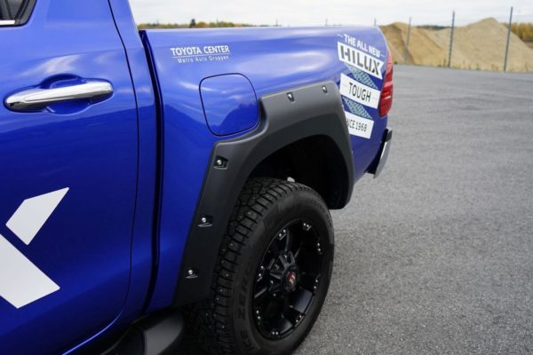 Toyota Hilux EGR Wheel Arch Extensions