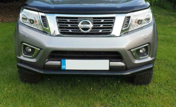 Black Spoiler Bar for Nissan Navara NP300