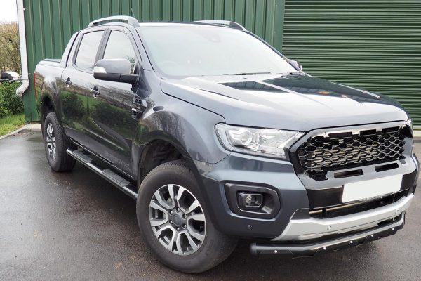 Black Side Steps for Ford Ranger