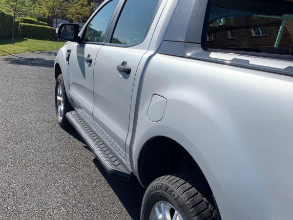 ford ranger black alpine side steps