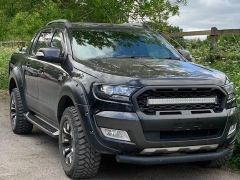Ford Ranger T7 Ultimate Stealth Grille - Complete Grille Upgrade