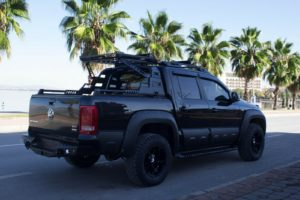 VW Amarok Black Roll Bar