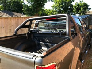 Isuzu Rodeo Black Roll Bar