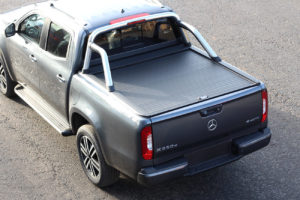 Mercedes X Class Stainless Steel Roll Bar for Armadillo Roller Shutter