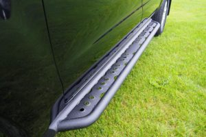 Toyota Hilux Black Rugged Side Runners