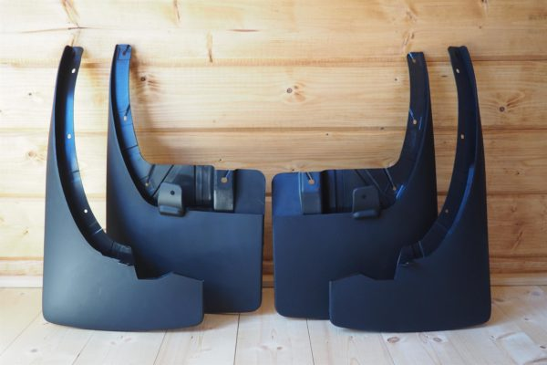 Nissan Navara D40 Mud Flaps Set of 4 Front and Rear 2005-2015