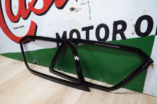 VW Amarok Headlight Cover Surrounds Gloss Black