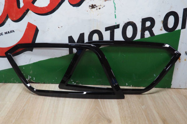 VW Amarok Gloss Black Headlight Cover Surrounds