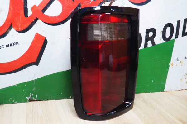 VW Amarok Rear Light Surrounds - Gloss Black