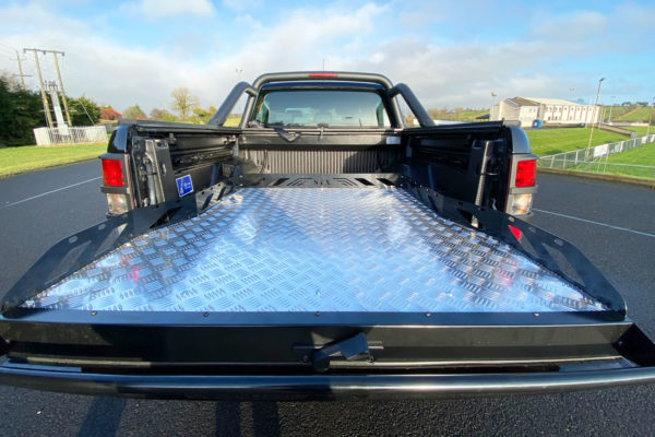 Mitsubishi L200 Hawk Truck Bed Sliding Tray - Chequered Plate
